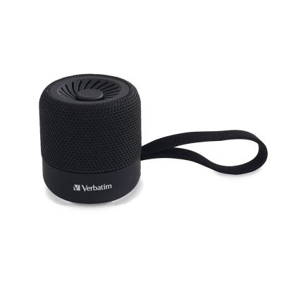 Parlante Inalambrico Verbatim Mini Bluetooth Negro