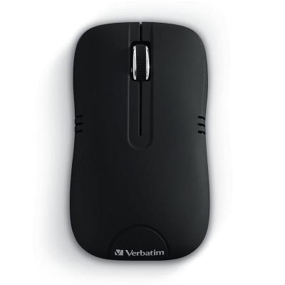 Mouse Verbatim Commuter Wireless Negro Mate