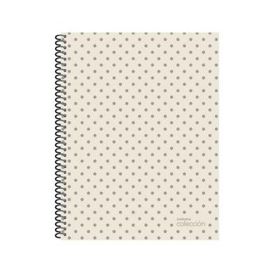Cuaderno Con Espiral Colecc 21x27 De 84 Hojas Rayadas.  Tapa Semirigida Metal