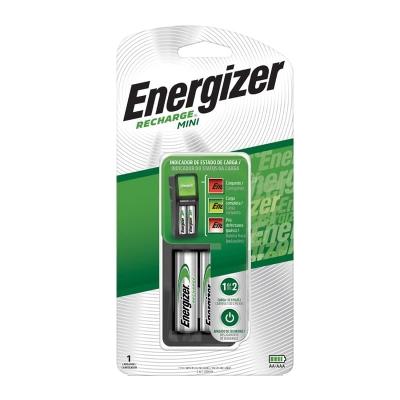 Cargador Mini Energizer 1 O 2 Pilas Aa Y Aaa