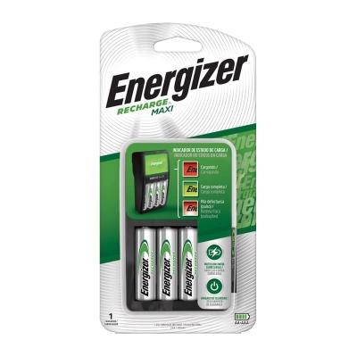 Cargador Maxi Energizer 2 O 4 Pilas Aa Y Aaa
