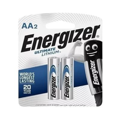 Pilas De Litio Energizer Ultimate Aa Blister X2