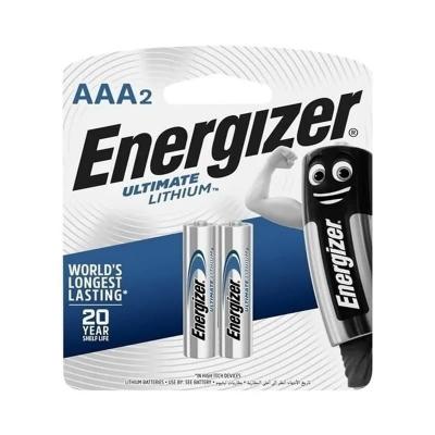 Pilas De Litio Energizer Ultimate Aaa Blister X2