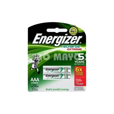 Pilas Recargable Aaa Energizer Nh12 700 Mah Blister X2