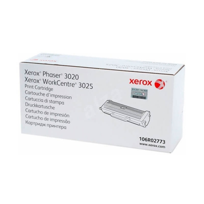 Toner Negro Xerox Phaser 3020 Workcentre 3025