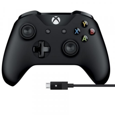 Control Inalambrico Xbox One & Pc Cable Negro
