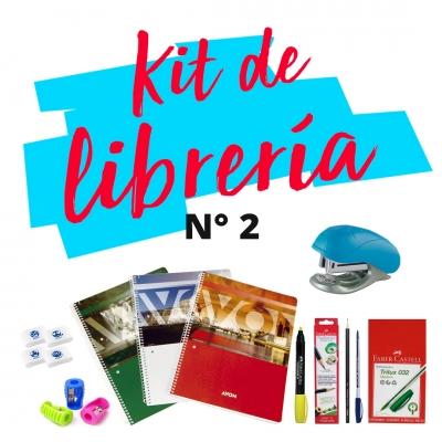 Combo De Libreria S 02 : Cuaderno, Abrochadora, Boligrafos, Lapiz, Resaltadores