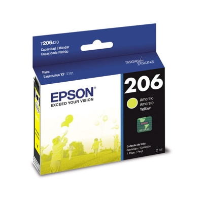 Cartucho Epson 206 Amarillo Xp-2101