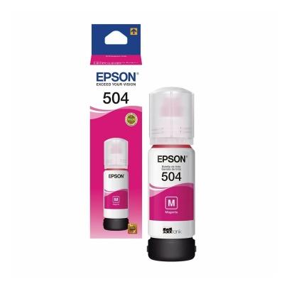 Botella De Tinta Magenta Epson 504 | L4150 L4160