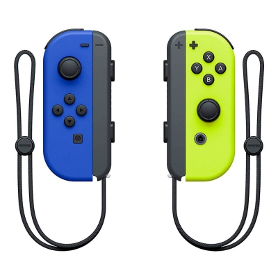 Controles Joy-con Nintendo Switch Neon Blue Yellow