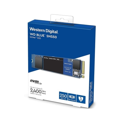 Disco Duro Interno Ssd Wd 250 Gb Blue M.2 Nvme