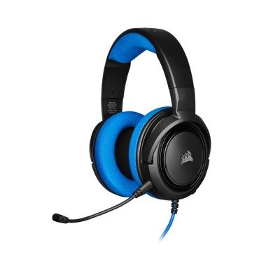 Auriculares Para Juegos Estéreo Corsair Hs35, Blue
