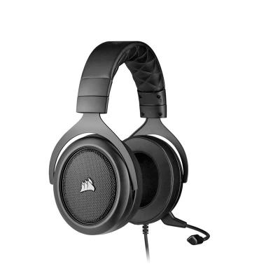 Auriculares Para Juegos Estéreo Corsair Hs50, Pro Stereo Carbon