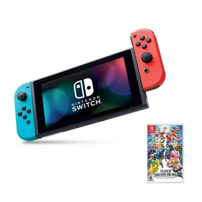 Nintendo Switch NeÓn Blue Y NeÓn Red + Un Juego Nintendo Switch