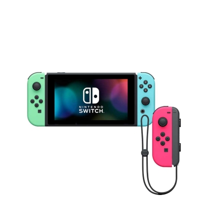 Nintendo Switch Animal + Controles Joy-con