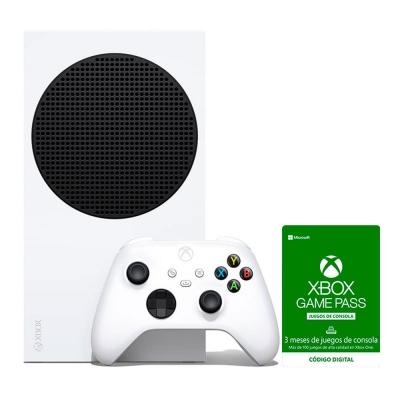Xbox Series S + Suscripcion Xbox Game Pass Console 3 Meses