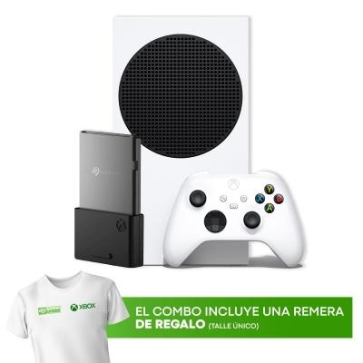 Xbox Series S + Tarjeta De Expansion Seagate + Remera