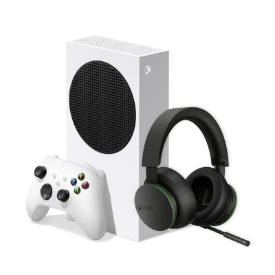 Xbox Series S + Tll-00008 Auricular Inalámbrico Xbox